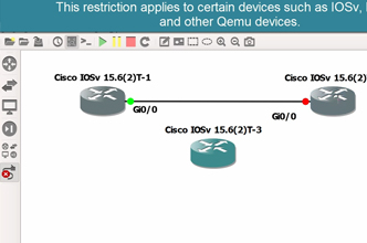 GNS3 2 0 New Feature: Connect IOSv, IOSvL2 and other Qemu devices
