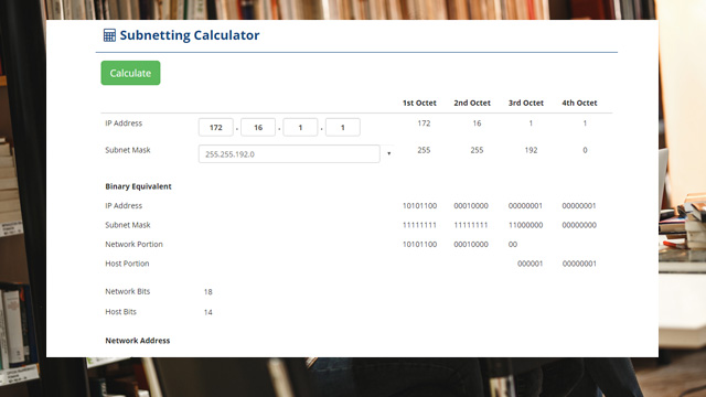 Subnetting Concepts Calculator