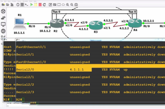 CCNA GRE Tunnel configuration and testing with GNS3 and Wireshark - Pass your 200-125 exam