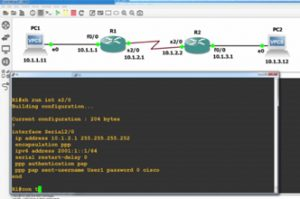 PPP CHAP Authentication: CCNA 200-125: GNS3, debugs and Wireshark