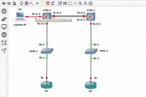 CCNA 200-125 GNS3 course: SPAN topology overview