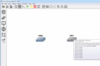 GNS3 Tips: Using the GNS3 hub and switch with Wireshark
