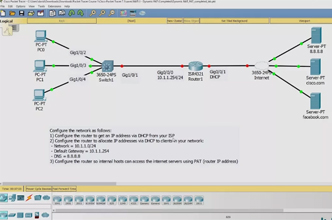 Cisco CCNA Packet Tracer Ultimate labs: NAT Lab 1  Can you
