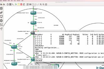 GNS3 Talks: Building large scale GNS3 networks (Part 12