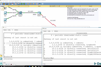 Cisco CCNA Packet Tracer Ultimate labs: RIP routing lab: Can