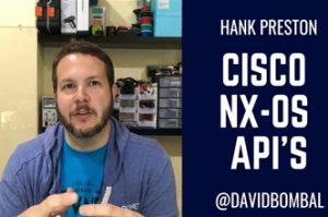 Cisco NX-OS APIs (NX-API): Lots of options to chose from. Learn Nexus APIs with Hank Preston.