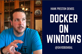 Docker on Windows: How to set up for NetDevOps: bash, git, Python, Atom, Postman, Docker: Part 4