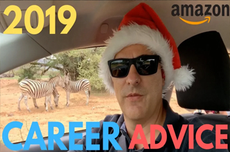 2019 career advice for IT professionals: Ride waves and 80/20 rule. Christmas Giveaway! Amazon!