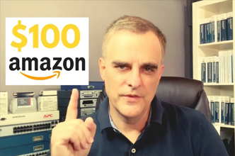 Amazon $100 Giveaway. Plus Life Lessons.