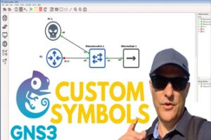 GNS3 Custom Symbols: Modern, clean, crisp network topologies! CCNA | Python | Networking