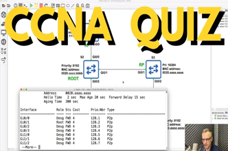 CCNA Spanning Tree,Root ports, designated ports, blocking ports,CCNA,CCNP,GNS3