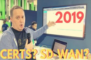 Are certs worth it in 2019? What is SD-WAN? The Network Therapist (Bryan Byrne) explains!