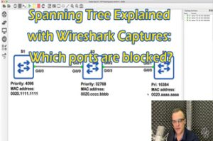 CCNA Quiz: Spanning Tree Explained with Wireshark Captures: Which ports are blocked? CCNA | CCNP