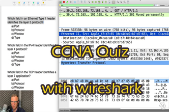 CCNA Quiz: The OSI model with Wireshark captures. Can you answer these quiz questions?