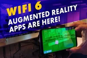 Wi-Fi 6 Augmented Reality Demo: 802.11ax wifi 6 changes the game!