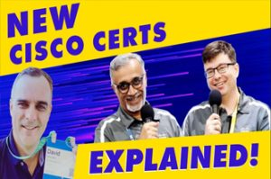 The New CCNA, CCNP, CCIE certifications explained - BIGGEST Cisco Certification updates EVER!