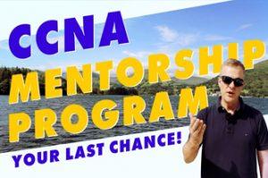 CCNA Mentorship program,Student reviews