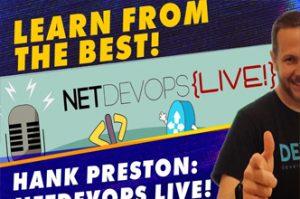 Want Hank Preston to teach you live? Free Python Security Training!