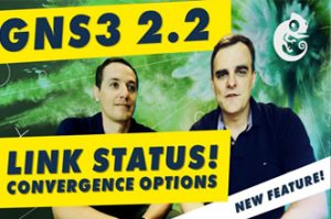 GNS3 2.2 New Feature Link Status Detection