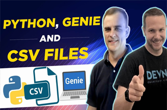 Python, Genie and CSV Files = Easy Network Automation (DevNet)