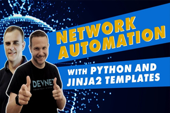 Python and Jinja2 Cisco Network Automation