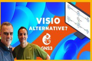 Visio Alternative,GNS3 interactive,topology diagrams