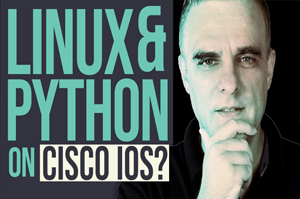 Python and Linux on Cisco IOS?