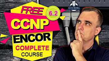 Free CCNP 350-401 ENCOR Complete Course 6-2 JSON Ubuntu and Python