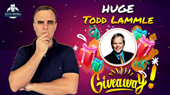 Huge Giveaway with Todd Lammle