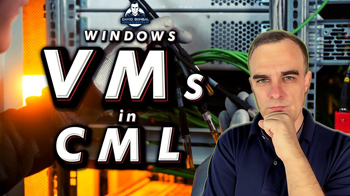 can cml virl 2 run windows 10 vms